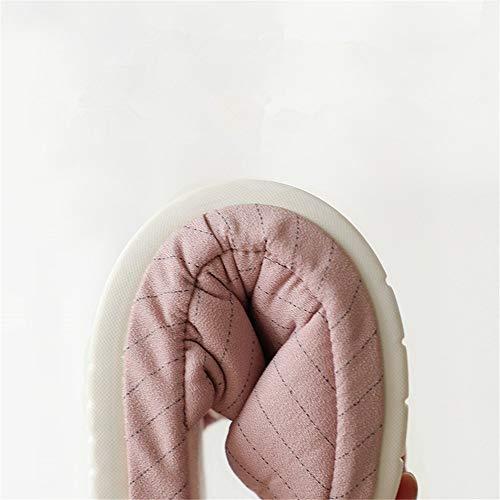 casa Coppia in antiscivolo casa cotone invernali calda B cotone scarpe pantofole YMFIE antiscivolo peluche coperta 7RPwq7dE
