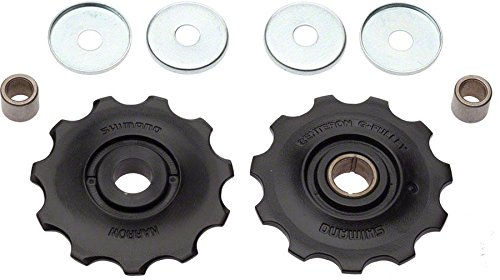 - Shimano Alivio M430 9 Speed Rear Derailleur Pulley Set