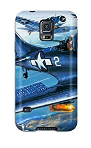 Excellent Design Aircraft Military Man Made Military Phone Case For Galaxy S5 Premium Tpu Case