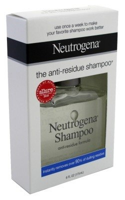 (Neutrogena Anti-Residue Shampoo, Gentle Non-Irritating Clarifying Shampoo to Remove Hair Build-Up & Residue, 6 fl. oz (Pack of 2))