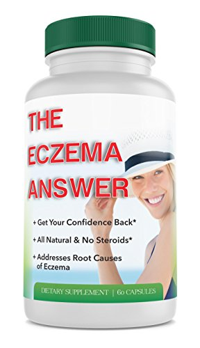 Natural Eczema Relief Treatment Capsules - Potent Supplement Addresses The Root Cause - No Steroids, Only One of It's Kind for Dry Itchy Painful Skin, Dermatitis and Psoriasis