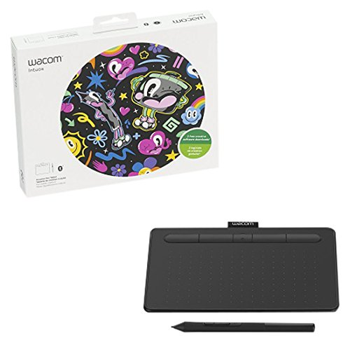 Wacom Intuos Small, Bluetooth, Black ( CTL4100WLK0)