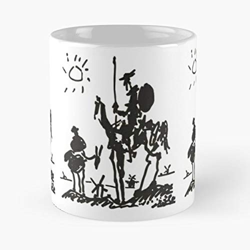 Picasso Pablo Artist Coffee Mugs Unique Ceramic Novelty Cup ()