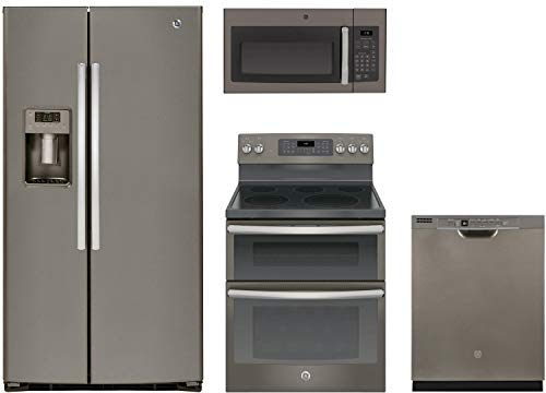 4-Piece Kitchen Appliance Package with GSE25HMHES 36