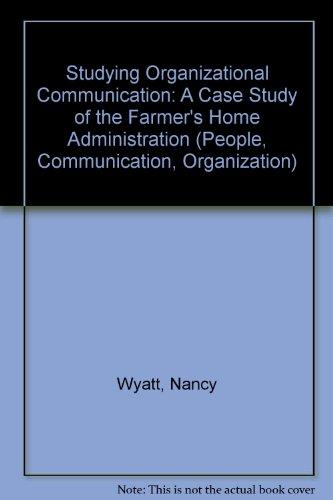 Ulivita - Download Studying Organizational Communication (People