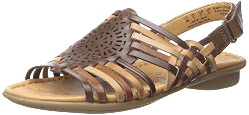 75f12edbe550 Galleon - Naturalizer Women s Wendy Huarache Sandal