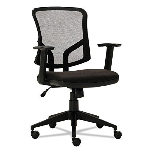 Alera ALETE4817 Everyday Task Office Chair, Black Mesh