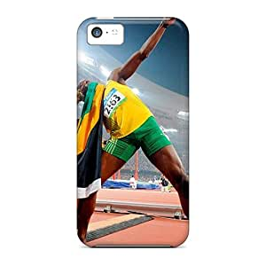 Hot EPe10647dIJN Cases Covers Protector For Iphone 5c- Usain Bolt Athlete