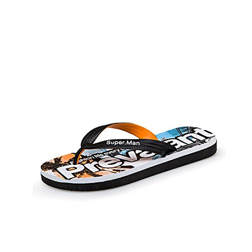 spiaggia uomoCasual 5 da Arancia 27 pelle Sandalo impermeabili e da estivi in uomo 25 cm antiscivolo Sandali uomo Pantaloncini da da Melodycp HXZCqnPXxw