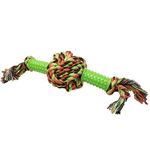 hot sale Animal Planet TAP0061 Rubber & Rope Dog Toy, Medium