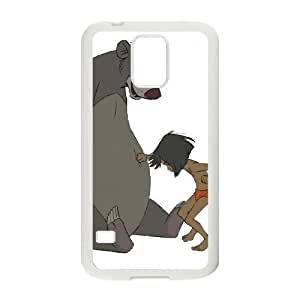 Jungle Book Samsung Galaxy S5 Cell Phone Case White WON6189218047381