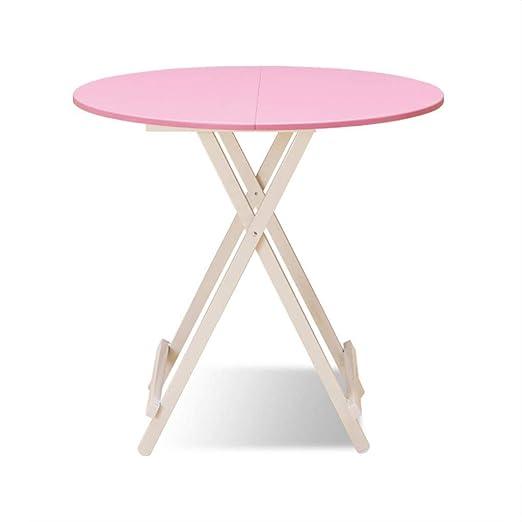 Mesa de ordenador Mesa plegable de madera maciza, cocina y mesa de ...