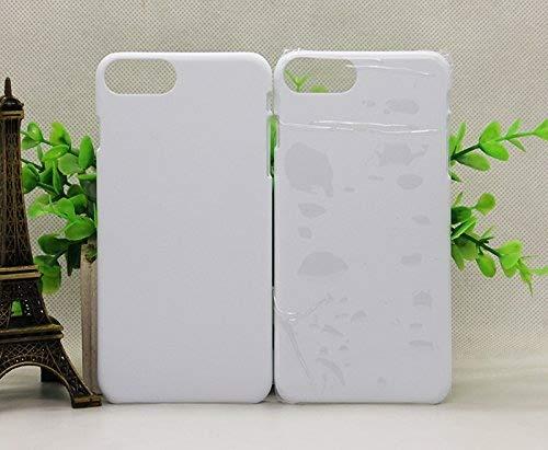 10pcs 3D iPhone 7plus Case Sublimation Heat Press Transfer DIY Phone Cover(001923)