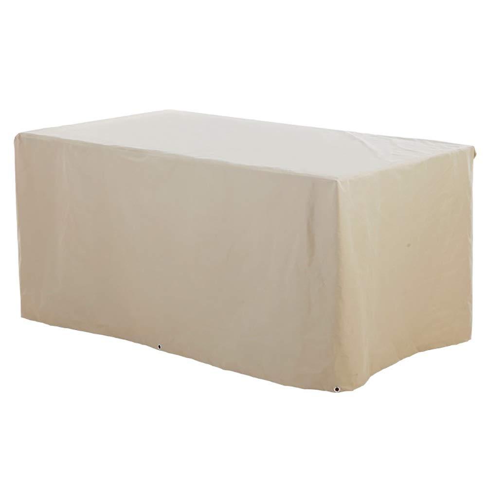 ファニチャー カバー テーブルカバー パティオ折りたたみ長方形家具セットカバー用テーブル&チェア、ヘビーデューティガーデン防水ソファカバー用収納 B07RL4WQRP