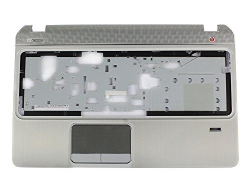 Ivos Replacement Laptop Silver Palmrest Top Cover Upper Case without Touchpad Sensor Board for HP Pavilion Envy M6 M6-1000 M6-1125dx M6-1035dx M6-1009DX AP0R1000410 705196-001 690232-001 by Ivos
