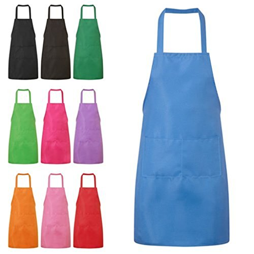 Kitchen Cooking Aprons Dress With Pockets (3#) - 1