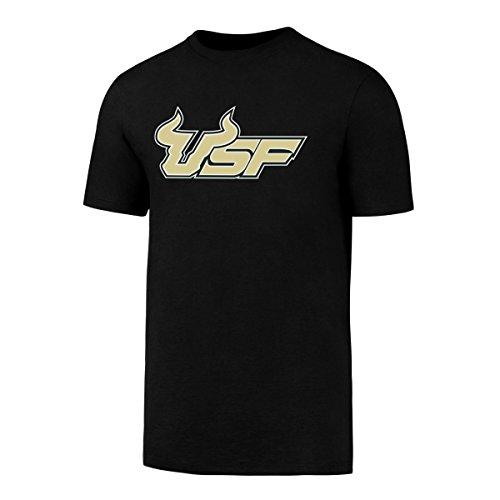NCAA South Florida Bulls OTS Men's Rival Tee , Black Athletic Logo, Medium