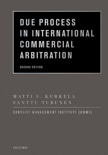 Due Process in International Commercial Arbitration Pdf
