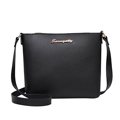 COPPEN Women Crossbody Bag Fashion Solid Color Messenger Phone Coin Bag