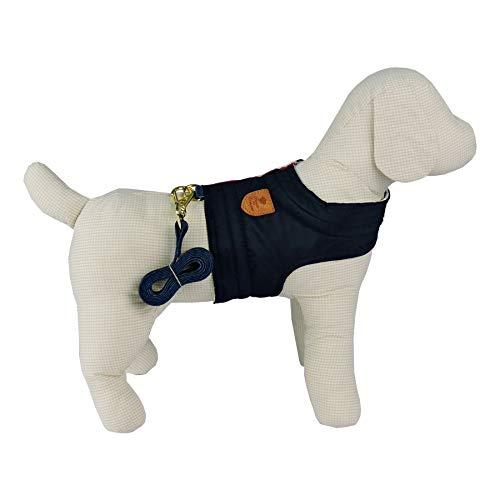 Colete Listra Bonito pra Cachorro para Cães Marinho - Tamanho G