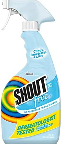 Stain Removers: Shout Free
