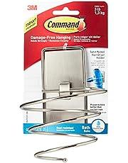 Command Bath Mirror, Satin Nickel, 1-Mirror