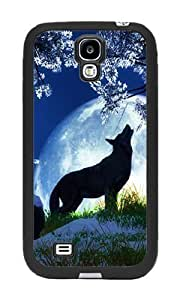 Howling Wolf - Case for Samsung Galaxy S4 by runtopwell