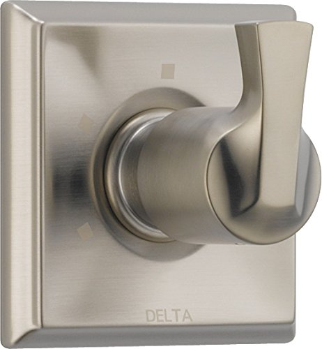 Sp Kit Faucet - Delta Faucet Dryden 3-Setting Shower Handle Diverter Trim Kit, SpotShield Stainless T11851-SP (Valve Not Included)
