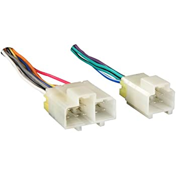41oudlf1XuL._SL500_AC_SS350_ amazon com metra 70 7550 wiring harness for select 1990 2005 metra nissan wire harness at fashall.co