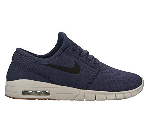 Nike Stefan Janoski Max Trainers Thunder Blue / Black - Gum / Medium Brown EoHBV