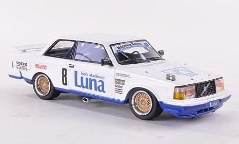 Volvo 240 Turbo, No.8, Magnum racing, ETCC , 1985, Modelo de Auto, modello completo, Neo 1:43: Neo: Amazon.es: Juguetes y juegos