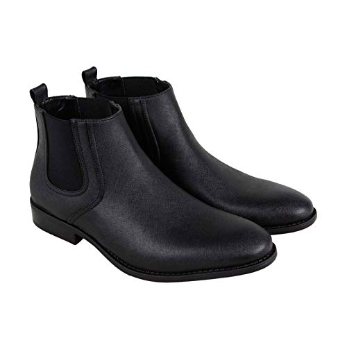 Unlisted by Kenneth Cole Men's N Half Ankle Boot, Black, 10.5 M US