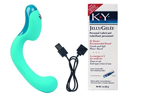 Bundle Package Of Key Skye - Robin Egg Blue And a K-Y Jelly 2oz. Tube by JOPEN
