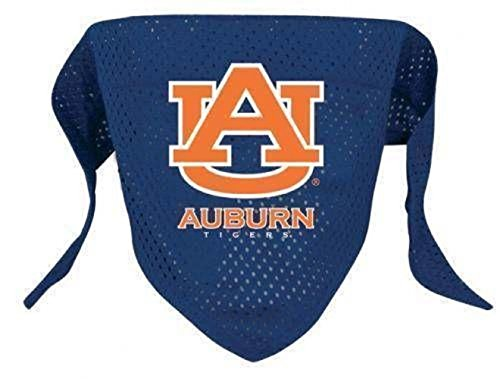 rm_lo AUBURN UNIVERSITY TIGERS PET BANDANA (DOG-CAT) SIZE LARGE 19'' by rm_lo