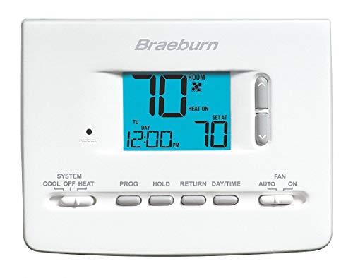 Braeburn 2020NC - Low Voltage Thermostat 18 to 30VAC