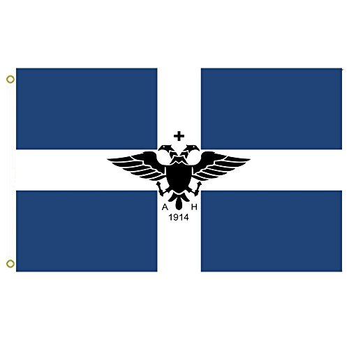 Large Flag Short Lived Greek Autonomous Republic Of Northern Epirus Flag Outdoor Flag Flying Flag 3X5ft Banner