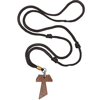 Amazon wooden tau cross necklace 15 inches tau and 2 x 13 wooden tau cross necklace 15 inches tau and 2 x 13 inches neckalce mozeypictures Image collections