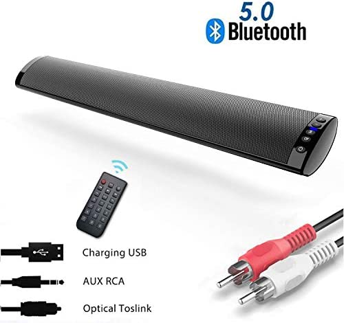 Barras de Sonido para TV, Bluetooth 5.0 Sonido Envolvente Altavoz ...