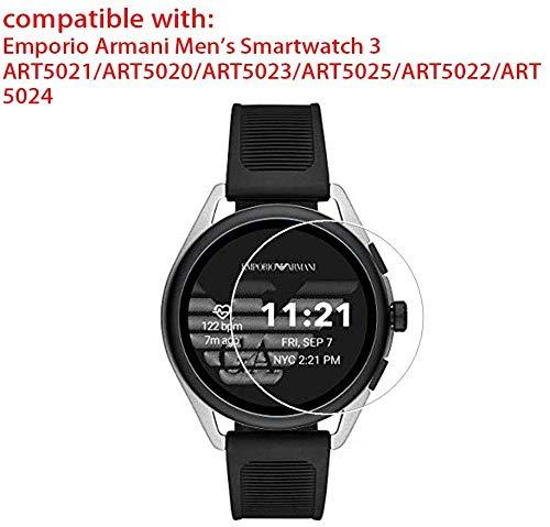 Zshion - Protector de Pantalla para Emporio Armani Smartwatch 3 ...