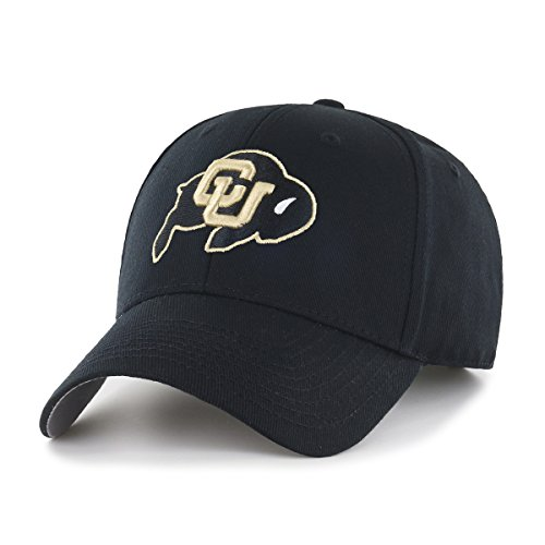 University Of Colorado Buffaloes (OTS NCAA Colorado Buffaloes Men's All-Star Adjustable Hat, Team Color, One)
