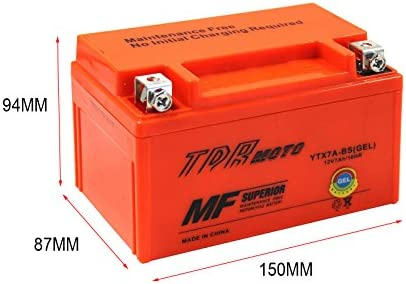 Suzuki LT-R 450 L0 Quad Racer CTX7A-BS YTX7A-BS Motorcycle battery 2010