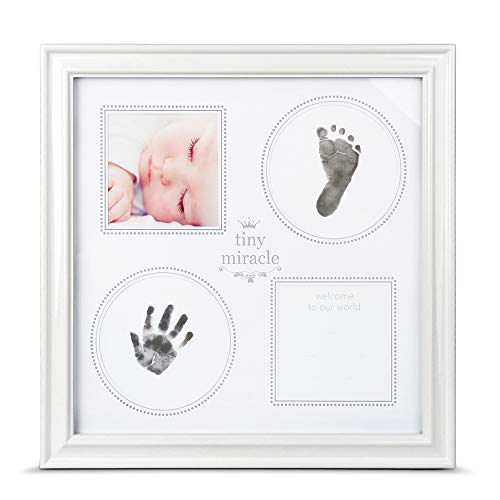 - RAKAZA Baby Handprint Kit Baby Picture Frame, Baby Footprint kit, Perfect for Baby Boy Gifts,Top Baby Girl Gifts, Newborn Baby Keepsake Frames