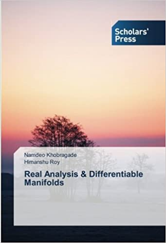 Real Analysis and Differentiable Manifolds