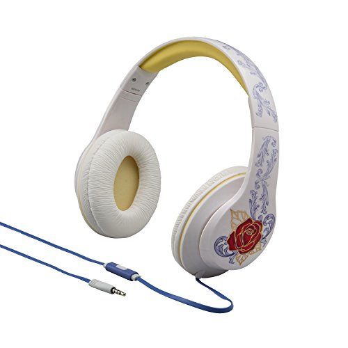Disney's Beauty and the Beast Over Ear Headphones with Awa