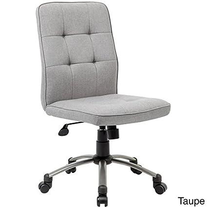 Superbe Amazon.com: Boss Fabric Modern Ergonomic Office Chair, Taupe: Kitchen U0026  Dining