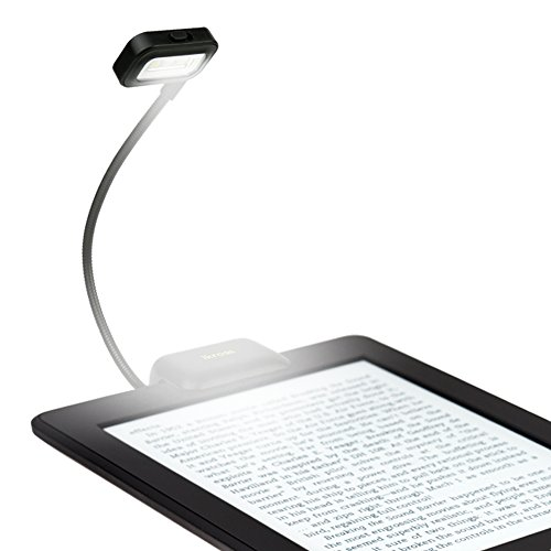iKross Black LED Clip-On Reading Light for Nook, eBook Readers, Tablet, Book, Textbook and more