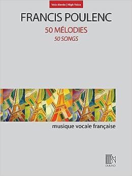 Instruction Books, Cds & Video Qualified Poulenc Fiancailles Pour Rire 6 Melodies For Voice