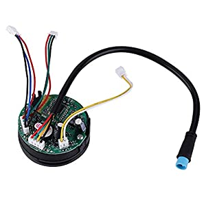 41ougVK8oaL. SS300 Tbest Ninebot es2 4, Scooter Circuit Board,Foldable Electric Scooter Circuit Board Dashboard with Cover for Ninebot ES1…