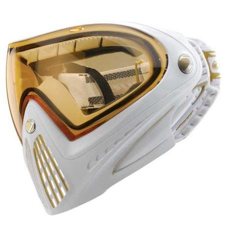 Dye Precision I4 Thermal Paintball Goggle, White Gold