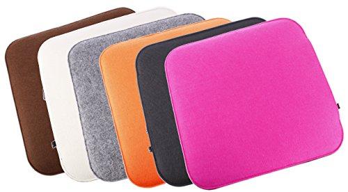 Filz-Sitzkissen-2-farbig-zum-Wenden-waschbare-Stuhlauflage-mit-Fllung-inkl-Reissverschluss-Moderne-Sitzauflage-fr-Bank-und-Stuhl-mit-runden-Ecken-weich-gepolstert-Designer-Sitzpolster-Filzauflage-quad